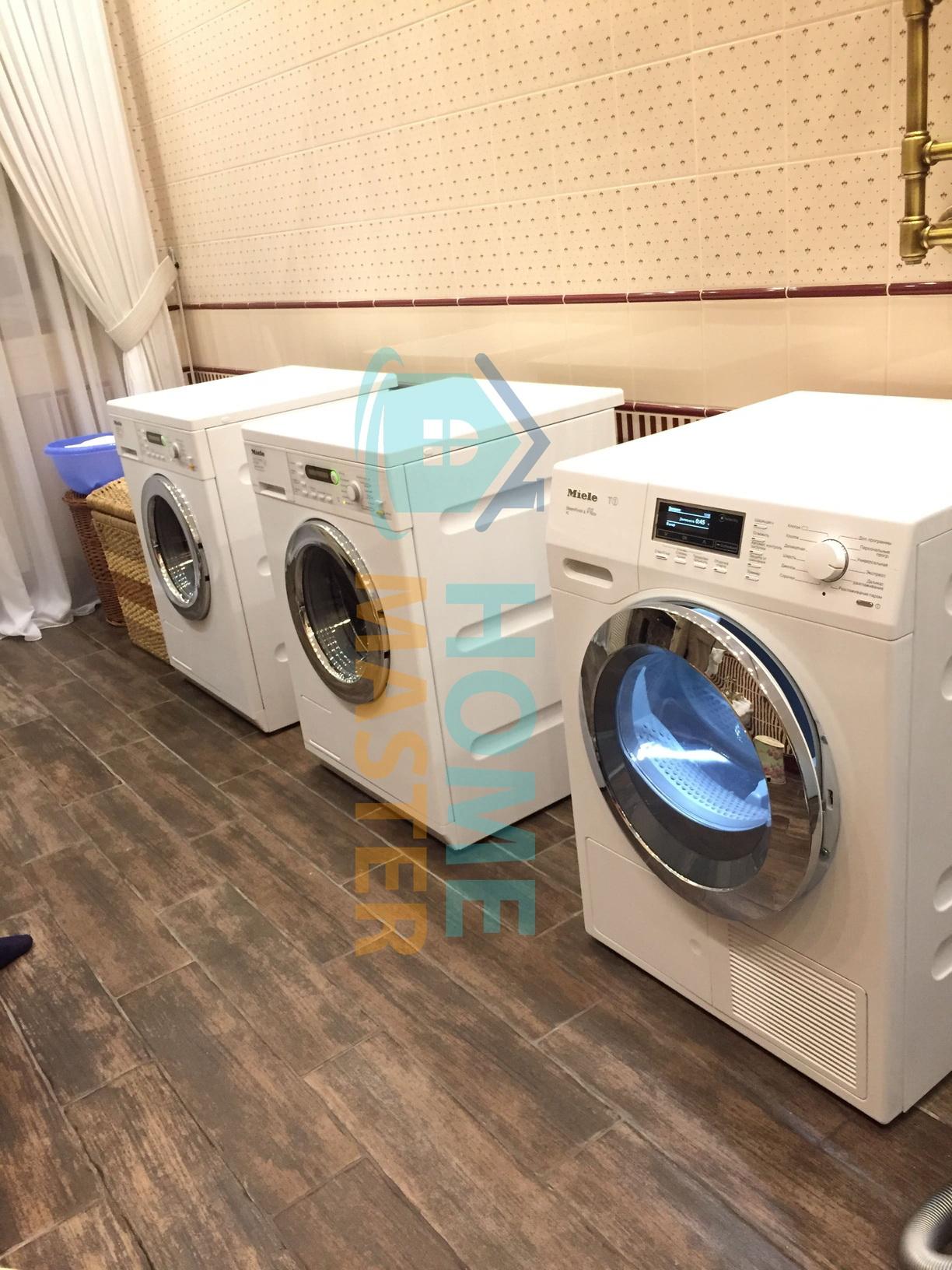 Профилактика стиральной и сушильной машины Миле