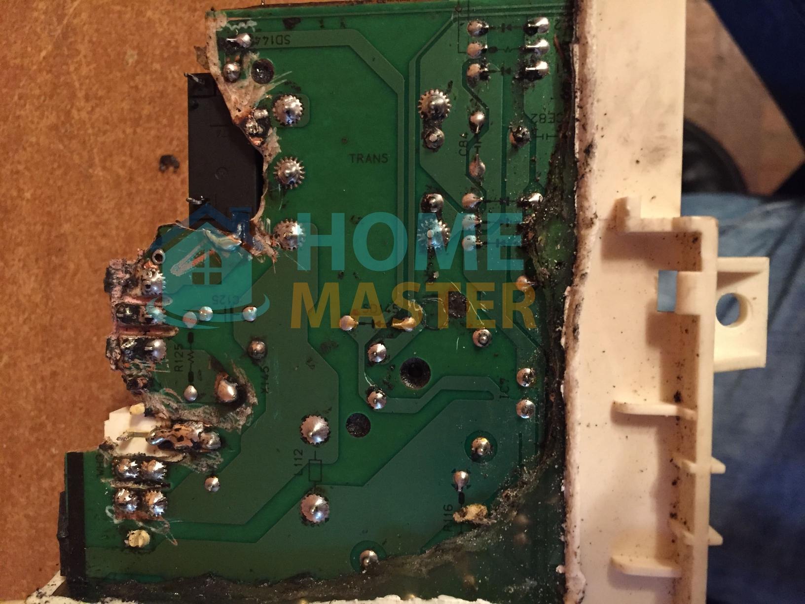 Ремонт блока управления в стиральной машине LG